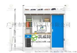潍坊宿舍高低床直销厂家铁架床材质尤其惊艳 凯威特