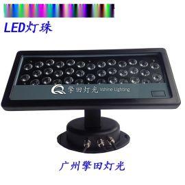 擎田灯光 QT-WL036 36颗1W投光灯,洗墙灯、投光灯,点控洗墙灯,五合一洗墙灯