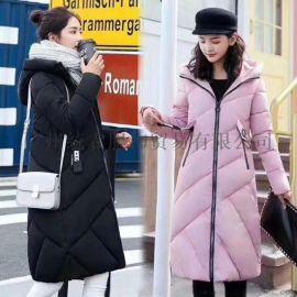 品牌女装棉衣外套批发市场