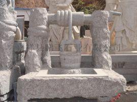 厂家专业供应汉白玉 青石 石雕人物 优石雕刻