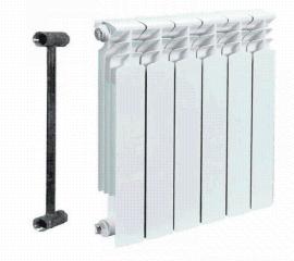 U.R7002型雙金屬壓鑄鋁散熱器