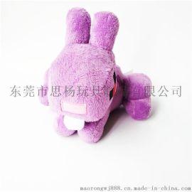 创意设计机械兔子布艺填充玩偶可定制