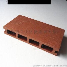 廠家直銷戶外140*25方孔地板木塑扶手棧道戶外地板