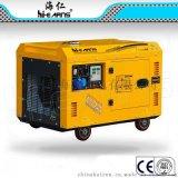7.5KW静音柴油发电机,198柴油动力,风冷单缸柴油发电机