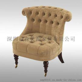 欧式沙发单人现代简约懒人沙发宿舍迷你小沙发