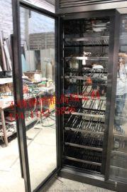 北京新款不锈钢酒柜,不锈钢洋酒柜案例图