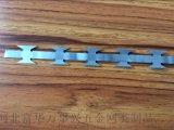 品字型刀片刺繩不鏽鋼刀片刺繩