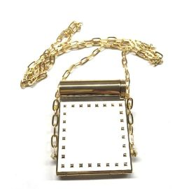 烟盒化妆镜 滴胶长方形链条化妆镜 支持大批量预订 口红管化妆镜