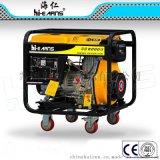 DG6000E定向轮和万向轮带计时器和排空气油泵带计时器和排空气油泵柴油发电机