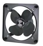 方形厨房排油烟厂房通风卫生间换气工业排气扇