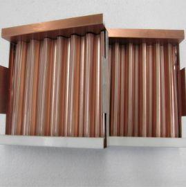 史泰博瓦楞板單面瓦楞鋁板雙面瓦楞鋁板復合板金屬天花
