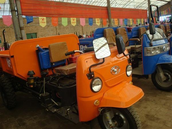 出售 时风工程柴油自卸三轮车图片