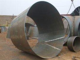 鑫涌牌吹灰器专用喇叭口|304不锈钢变径锥体Φ406*50