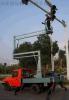 启运 低价出售 自行式曲臂升降机18/20米高空作业平台修路灯液压自行升降平台