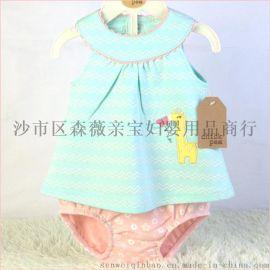 寶寶外貿服裝套裝尾貨新生兒外貿衣服