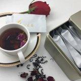 玫瑰花茶搭配紅茶,融合紅茶的功效與玫瑰花功效(廣告)