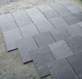 青石板地砖石材黑色精品瓦片瓷砖别墅楼面板岩保温装饰房顶促销