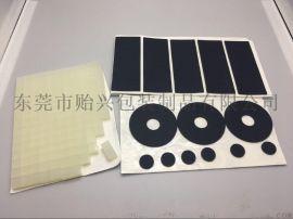 3M背圆形黑色透明硅胶脚垫 自粘硅橡胶脚垫 背胶防震胶垫