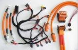 电动汽车高压线束五键位多芯航空防水接插件