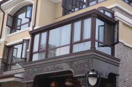 貝科利爾150系列高端鋁包木別墅陽光房