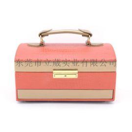 高檔戒指盒吊墜盒珠寶首飾盒飾品禮品皮盒