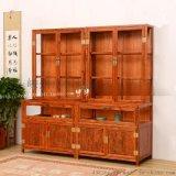 老榆木展示櫃精品珠寶櫃