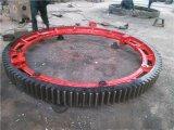 徐州建奎供应1.8米复合肥转炉烘干机大齿圈传动