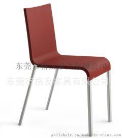 高档PU硬皮餐椅高脚吧椅厂家