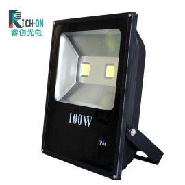 长方形款LED投光灯,户外100W投光灯
