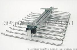 11杆   顶装式  可推拉  西裤架 (钢珠款)