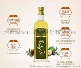 绿达野生山茶油750mL  天然有机 0添加