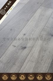 12毫米商用家用塑木强化复合层压地板