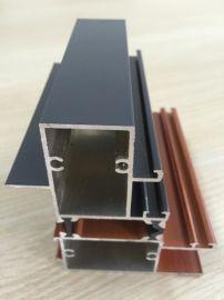 T85系列隔热断桥型材推拉窗铝合金门窗型材