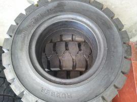 qiyu5吨300-15实心轮胎价格7吨叉车批发