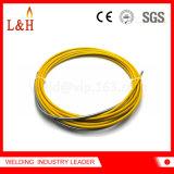 二氧化碳焊枪送丝软管宾采尔导丝管送丝管黄色
