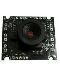 三分之一感光芯片高清高速可带唛克风方六灯RYS2010模组
