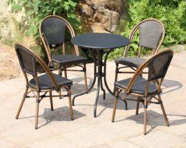 廠家批發戶外桌椅組合庭院室外咖啡廳休閒椅子星巴克陽臺椅