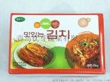 批發朝鮮獨特風味開胃小菜辣白菜廠家直銷