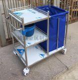 厂家直销多功能护理污物车不锈钢晨间护理车医用污物车