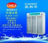 愛科華鋼化玻璃門防爆冰箱