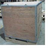 供应钢带箱、包装箱、机械木箱
