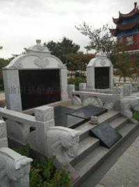 曲陽恆磊雕塑廠定制石雕墓碑雕塑