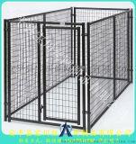 长期供应镀锌喷塑狗笼子安装便捷的大型犬笼子