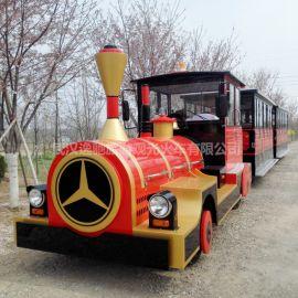 景区燃油观光小火车公园电动观光小火车