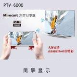 安卓同屏,苹果镜像 PTV6000安卓手机