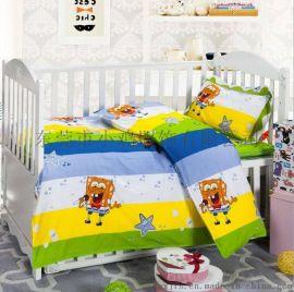 小鸡厂家**定制 幼儿园棉被子六件套 纯棉儿童四季被 儿童被褥批发