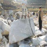 荒料大理石石头开采所需设备液压分裂机