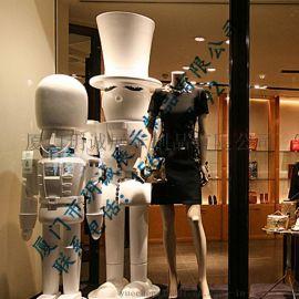 厦门玥诚骑卫兵玻璃钢橱窗装饰雕塑 厂家直销可来图定制