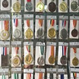 賽事獎牌勳章定做馬拉鬆獎牌定制運動會獎牌獎章小學中學幼兒園高中大學獎牌通用獎牌