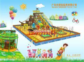厦门 漳州室内亲子儿童游乐园淘气堡设备厂家